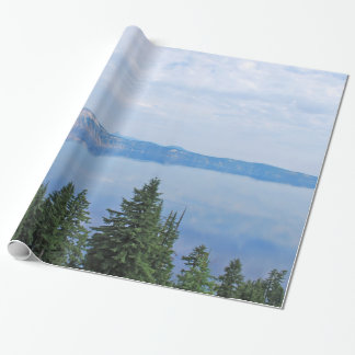 Crater Lake Oregon Wrapping Paper