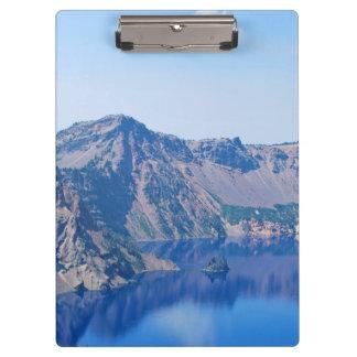 Crater Lake Phantom Ship Clipboard
