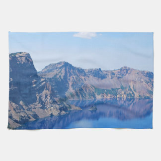 Crater Lake Phantom Ship Hand Towels