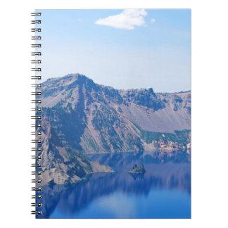 Crater Lake Phantom Ship Notebooks