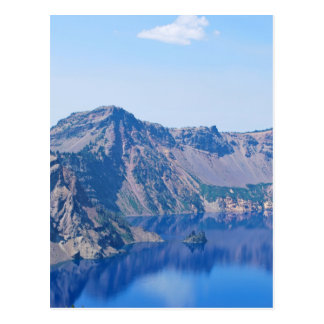 Crater Lake Phantom Ship Postcard