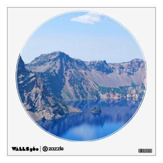 Crater Lake Phantom Ship Wall Sticker