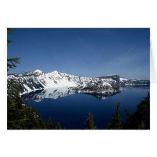 Crater Lake Photo Card