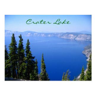 Crater Lake Postcard