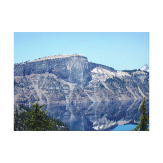 Crater Lake Reflections Canvas Print