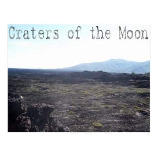 Craters of the Moon, Idaho Postcard