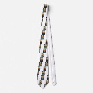 Cravate affiche française originale 1929 d'art déco de