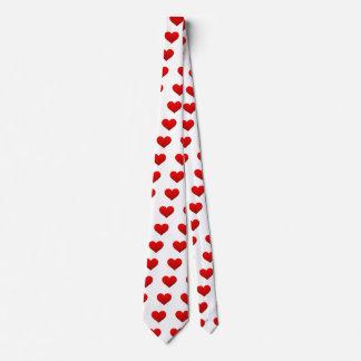 Cravate Coeur rouge parfait de Valentine