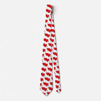 Cravate Coeurs de heureuse Sainte-Valentin