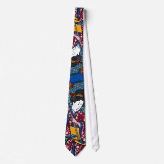 Cravate de geisha