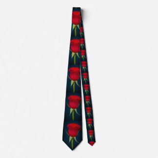 Cravate de Valentine de rose rouge
