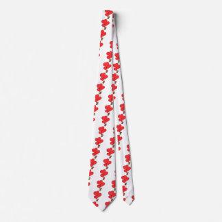 Cravate Ours bourré par amour de Valentine