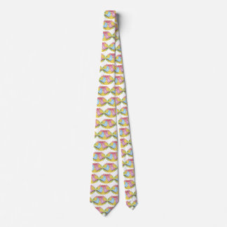Cravate Perruches de heureuse Sainte-Valentin