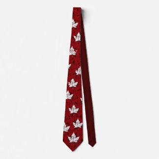 Cravate rouge de Mapleleaf Canada de cravate de