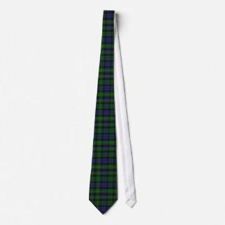 Cravate traditionnelle de plaid de tartan de MacBr