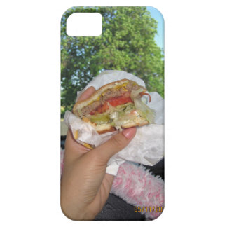 craving a burger iPhone 5 covers