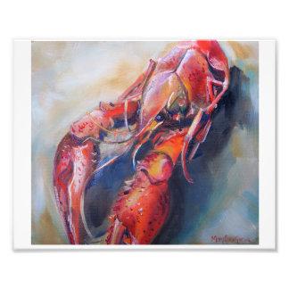 Crawfish Art Print