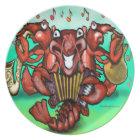 Crawfish Band Plate
