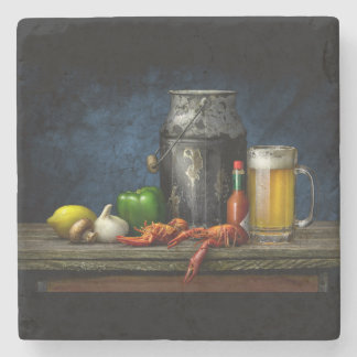 Crawfish & Beer Coaster