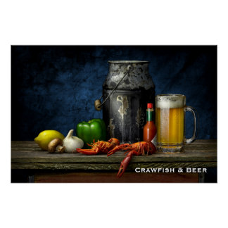 Crawfish & Beer Poster