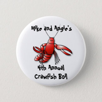 Crawfish Boil Party Pin