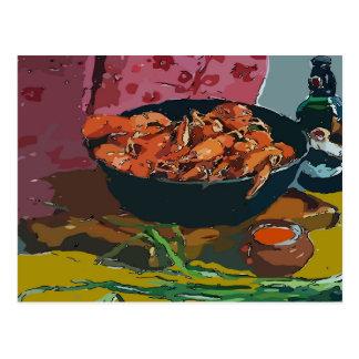 Crawfish Bowl Postcard