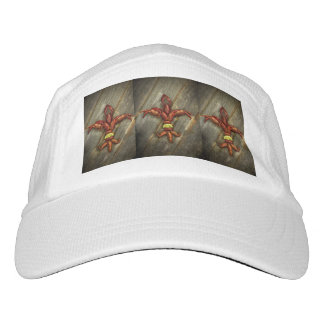 Crawfish Fleur-De-Lis Ball Cap