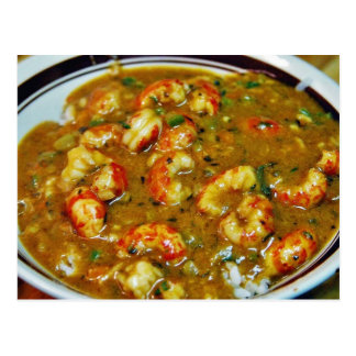 Crawfish Gumbo Postcard
