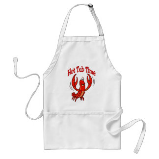 Crawfish Hot Tub Time Standard Apron