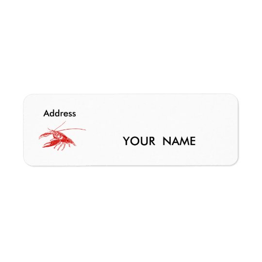 crawfish , Label
