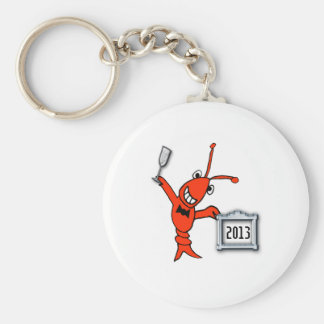 Crawfish / Lobster 2013 Cheers Keychain