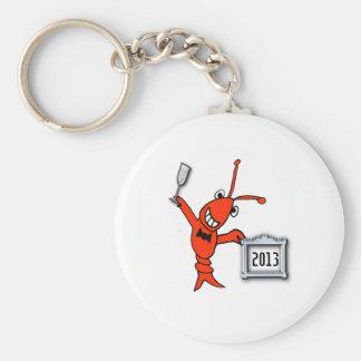 Crawfish / Lobster 2013 Cheers Keychain