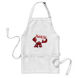 Crawfish: Pinch My Tail Standard Apron