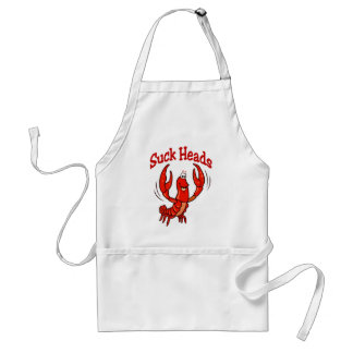 Crawfish: Suck Heads Standard Apron