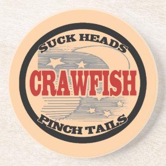 Crawfish Water Meter Drink Coasters