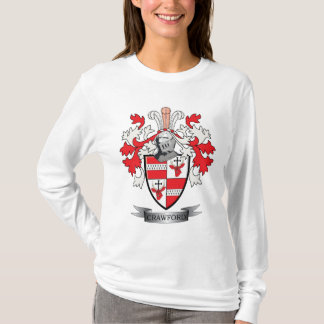 Crawford Family Crest Coat of Arms T-Shirt