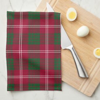 Crawford Scottish Tartan Plaid Kitchen Towel