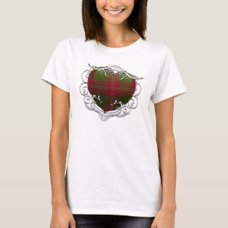 Crawford Tartan Heart T-Shirt