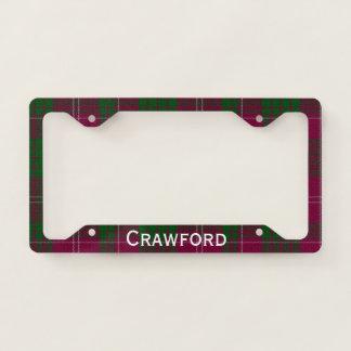 Crawford Tartan Plaid License Plate Frame