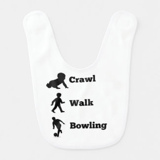 Crawl Walk Bowling Bib
