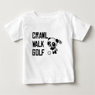 Crawl Walk Golf Baby T-Shirt