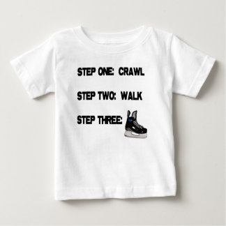 Crawl, Walk, HOCKEY! Baby T-Shirt