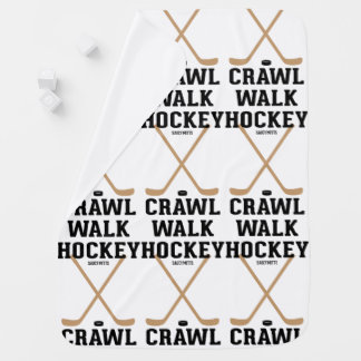 Crawl Walk Hockey Infant Baby Stroller Blankets