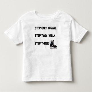 Crawl...Walk...HOCKEY! Toddler T-shirt