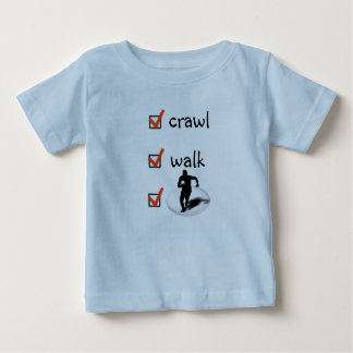 Crawl Walk Rugby Baby T-Shirt