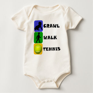 Crawl Walk Tennis Baby Bodysuit