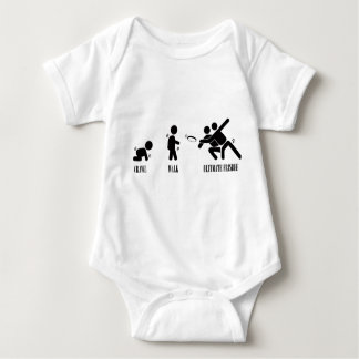 Crawl. Walk. Ultimate Frisbee Baby Bodysuit