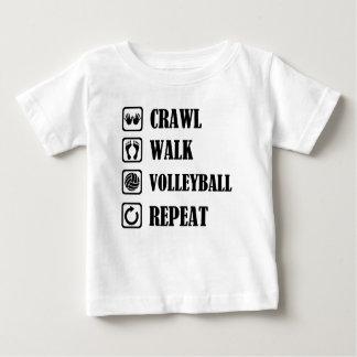 crawl walk volleyball repeat baby T-Shirt