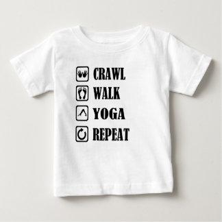 CRAWL WALK YOGA REPEAT BABY T-Shirt