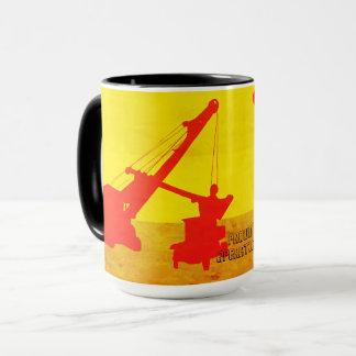Crawler Crane Northwest Crane Art Crane Operator Mug